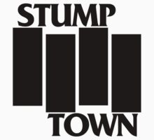 Stumptown Black Flag Shirt by toddbeans