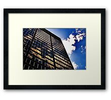 Sky Reflections Framed Print