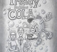 Trendy Bubbles Cola II  by ACProsser