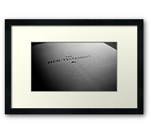 The Gospel Framed Print