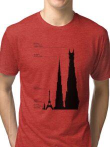 Towering Sauron Tri-blend T-Shirt
