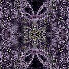 Purple Flowers by SusanAdey