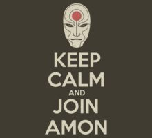 Keep Calm and Join Amon by nokki1