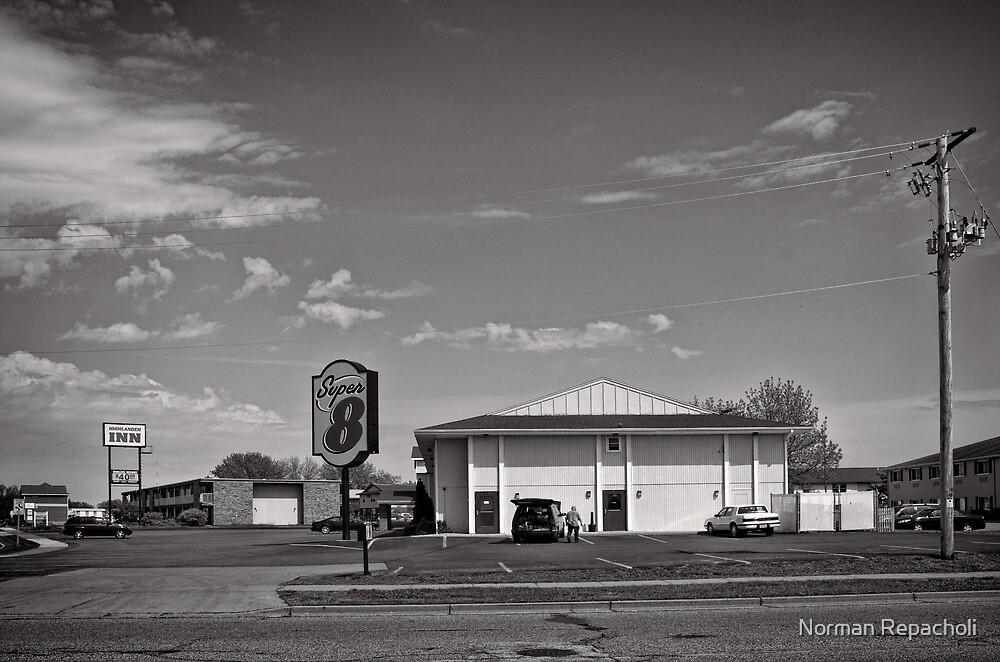 Roadside accommodation - Eau Claire, USA by Norman Repacholi