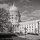 Madison Wisconsin Capitol Building - USA by Norman Repacholi