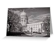 Madison Wisconsin Capitol Building - USA Greeting Card