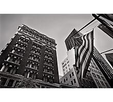 The architecture of Stars and Stripes - San Francisco, USA Photographic Print