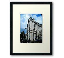 Corner Building, Washington, D.C. Framed Print