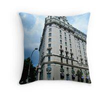 Corner Building, Washington, D.C. Throw Pillow