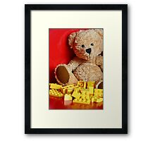 Little Brown Bear Framed Print