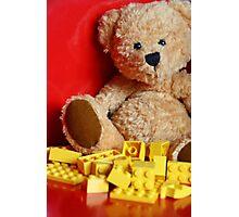 Little Brown Bear Photographic Print