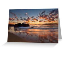 Main Beach - South West Rocks Greeting Card