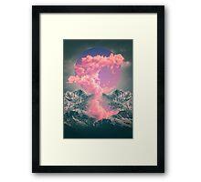 Ruptured Soul (Volcanic Clouds) Framed Print