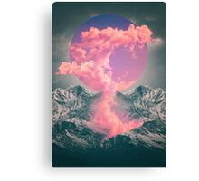 Ruptured Soul (Volcanic Clouds) Canvas Print