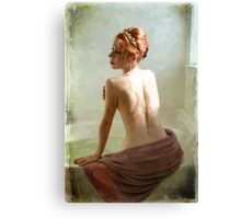 Tiara and Tub Canvas Print