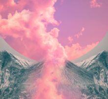 Ruptured Soul (Volcanic Clouds) Sticker