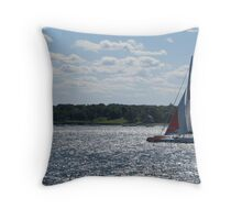 America's Cup Throw Pillow