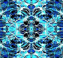 Blue Web Sticker