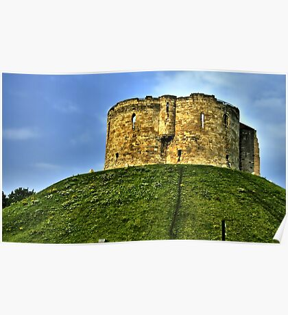 Cliffords Tower Poster