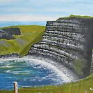 Cliffs of Moher, County Clare by Samuel Ruth
