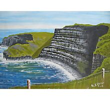 Cliffs of Moher, County Clare Photographic Print