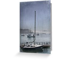 Early Morning In Avila Bay Greeting Card