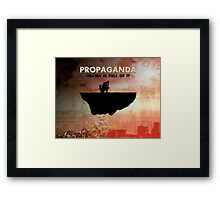Obama Is Full of Propaganda Framed Print