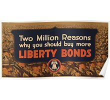 Two million reasons why you should buy more Liberty Bonds 002 Poster