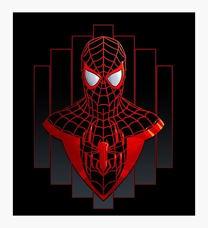 Ultimate Spider-Man Photographic Print