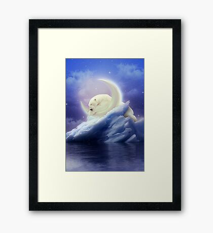 Guard Your Heart. Protect Your Dreams. Framed Print