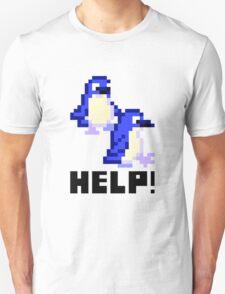 Help! Save the Penguins! Cute Pixel Art Shirt T-Shirt