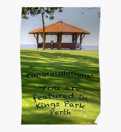 Kings Park Banner Poster