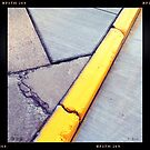 Curb and Cracks by KBritt