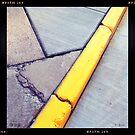 Curb and Cracks by KBritt