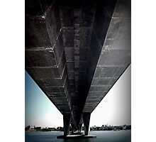 Another photo under a bridge Photographic Print