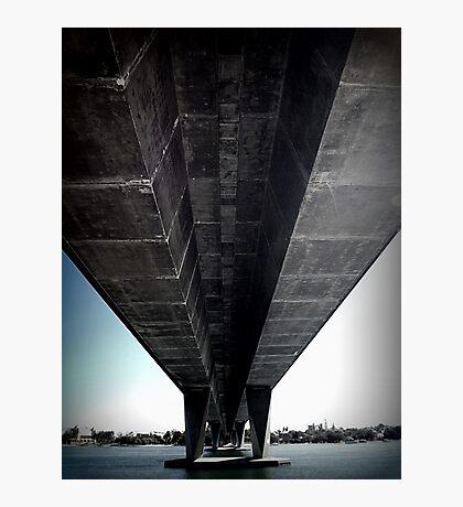 Another photo under a bridge Photographic Print