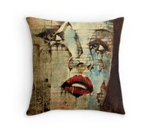 Fading Within Walls  Throw Pillow