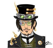 Johnny Depp - Steampunk Gentleman by masterkuro