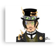 Johnny Depp - Steampunk Gentleman Canvas Print