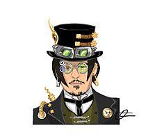 Johnny Depp - Steampunk Gentleman Photographic Print