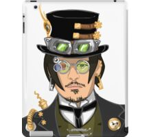Johnny Depp - Steampunk Gentleman iPad Case/Skin