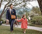 Father & daughter at Rochester Lilac Festival 19570512 0025 by Fred Mitchell