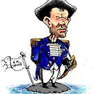 Tony Abbott as Captain Bligh by urbanmonk