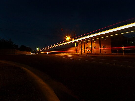 Light Trails by Andrew (ark photograhy art)