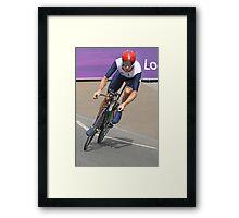 Bradley Wiggins  - Going For Gold - London 2012 Framed Print