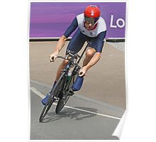 Bradley Wiggins  - Going For Gold - London 2012 Poster