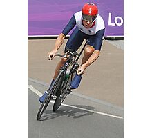 Bradley Wiggins  - Going For Gold - London 2012 Photographic Print