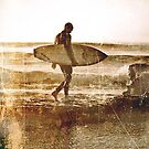Vintage Surfer by Naomi Frost