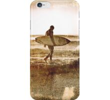 Vintage Surfer iPhone Case/Skin