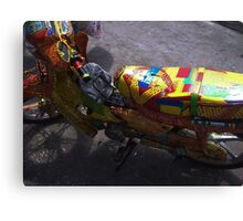 Colouful Ride Canvas Print
